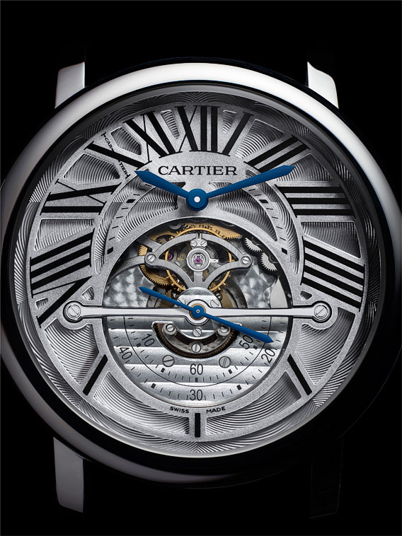 Montre Rotonde de Cartier Astrorgulateur Watch Calibre 9800 MC