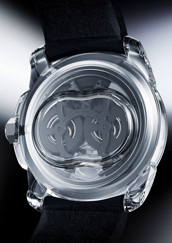 Cartier ID Two Concept Watch Caseback