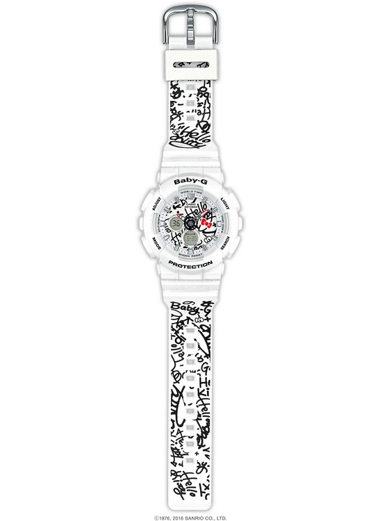 Casio Baby-G Hello Kitty BA-120KT-7A Watch