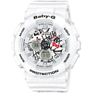 Casio Baby-G Hello Kitty BA-120KT-7A Watch Front