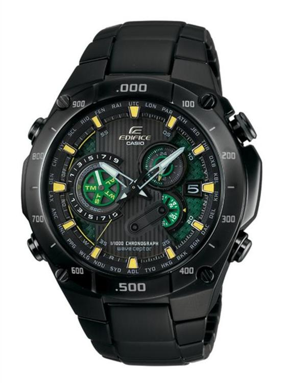 Edifice Casio Black Watch