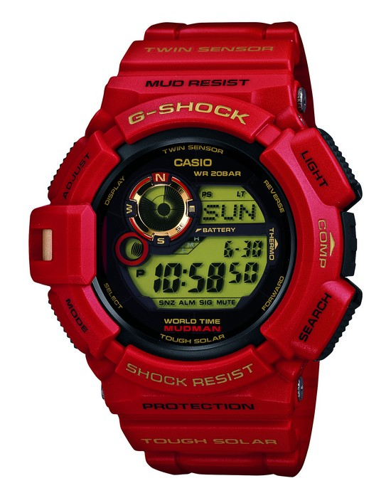 Casio G-Shock Anniversary Mudman Watch G-9330A-4
