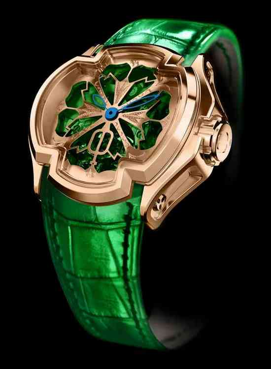 Cecil Purnell Lady Lacroix Tourbillon Watch