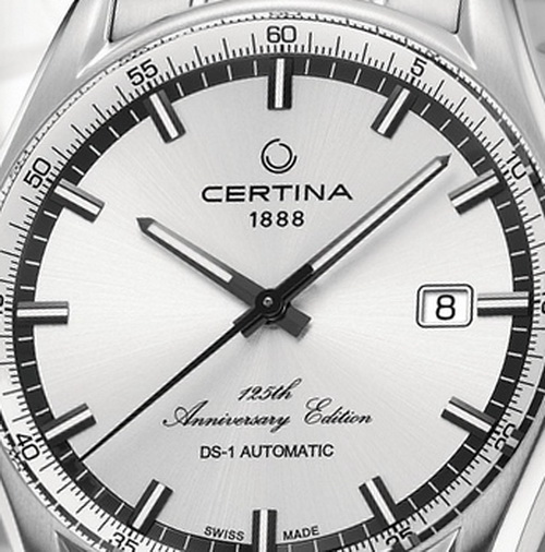 Certina DS-1 Automatic 125 Anniversary Limited Edition Watch Front