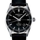 certina-ds-1-black-dial-leather