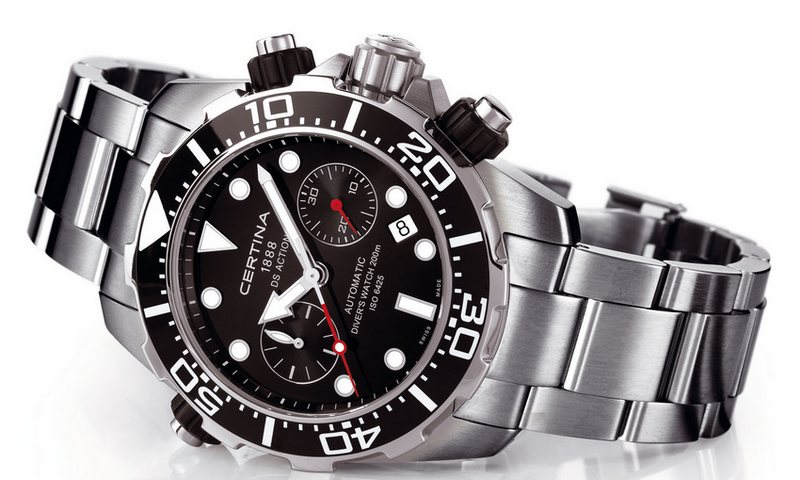 Certina DS Action Diver Automatic Chronograph Watch C013.427.11.051.00
