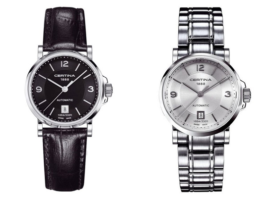 Certina Lady Automatic DS Caimano Watches