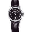 Certina Lady Automatic DS Caimano Watch Leather Black