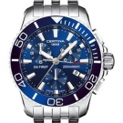 Certina Gent Quartz Collection DS First Chronograph Watch Blue