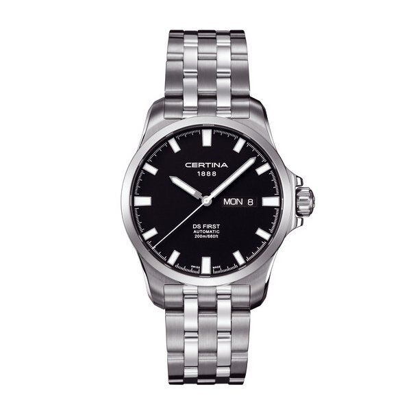 Certina Gent Automatic Collection DS First Day-Date Watch