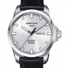 Certina Gent Automatic Collection DS First Day-Date Watch Silver