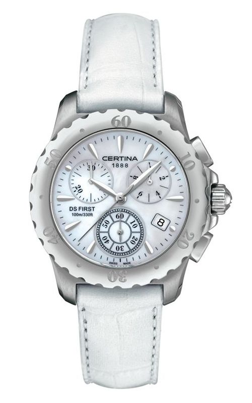 Certina DS First Lady Chronograph Watch C538.7084.42.91