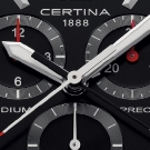 Certina DS Podium Chronograph 1/100 sec Watch Dial