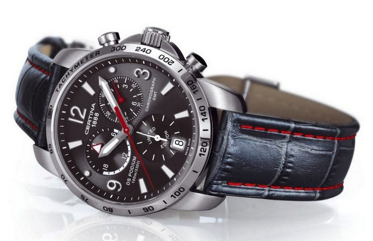 Certina DS Podium GMT Chronograph Sauber F1 Team Watch