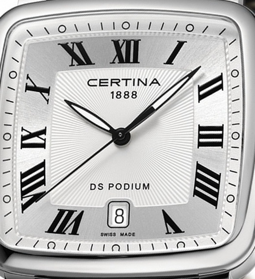 Certina DS Podium Square Watch Front