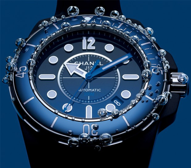 Chanel J12 Marine Blue Diving Watch