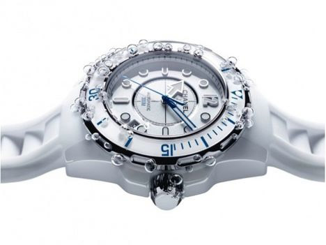 Chanel J12 Marine White Diving Watch