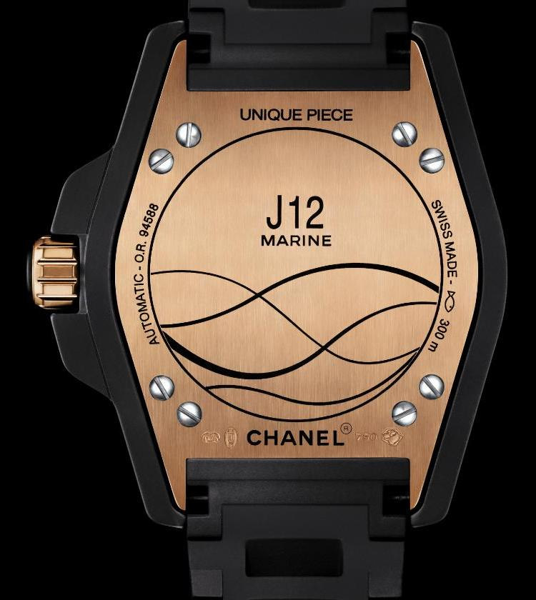Chanel J12 Marine Watch Caseback