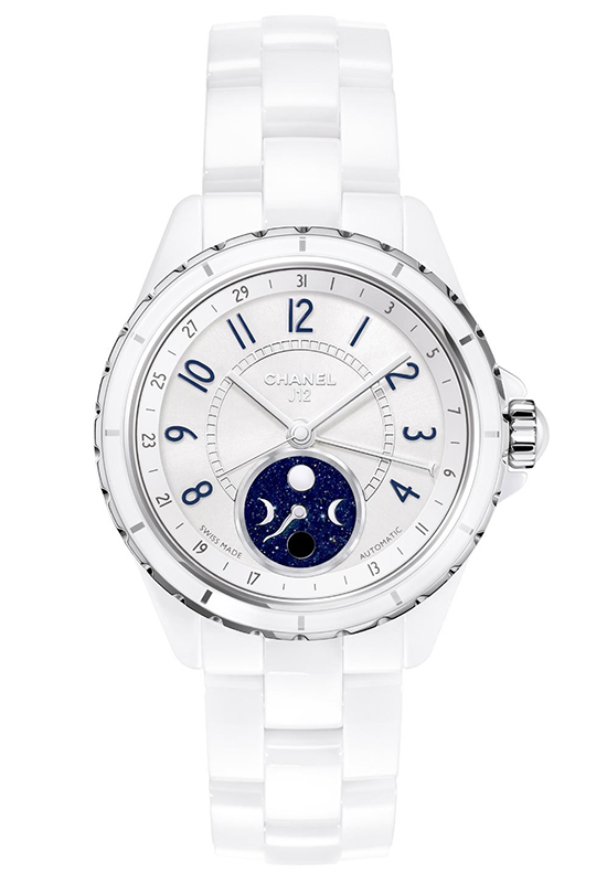 Chanel J12 Moonphase White Ceramic Watch
