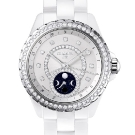 Chanel J12 Moonphase White Ceramic Diamonds Watch
