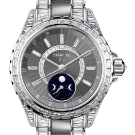 Chanel J12 Moonphase White Gold Ceramic Watch