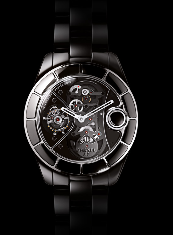Chanel J12 Retrograde Mysterieuse Tourbillon Watch