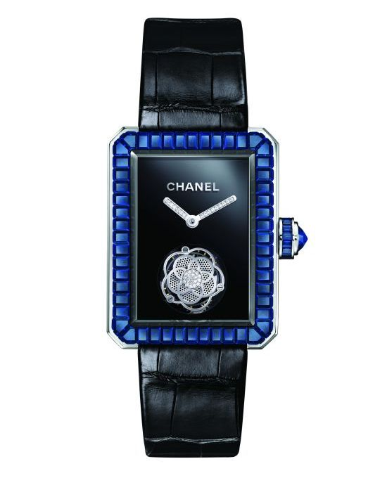 Chanel Première Flying Tourbillon Watch Blue Sapphire
