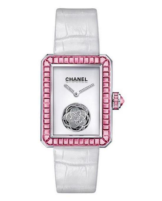 Chanel Première Flying Tourbillon Watch Pink Sapphire