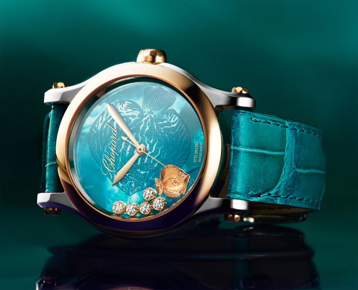 Chopard Happy Fish 36mm Automatic Watch