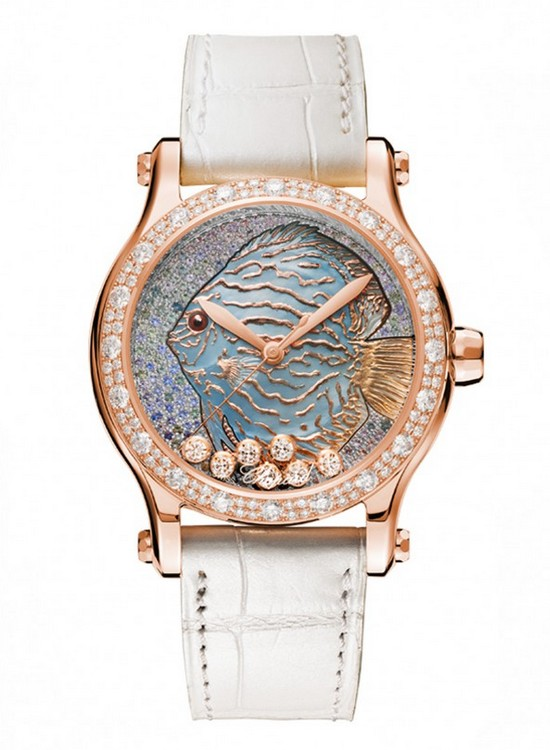 Chopard Happy Fish Métiers d'Art Watch Front