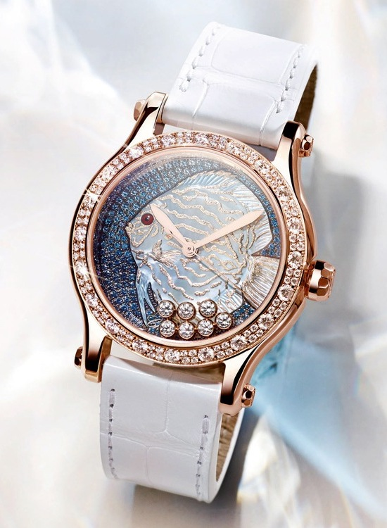 Chopard Happy Fish Métiers d'Art Watch