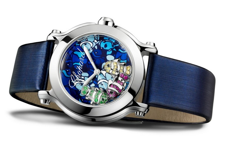 Chopard Happy Fish Watch Stainless Steel
