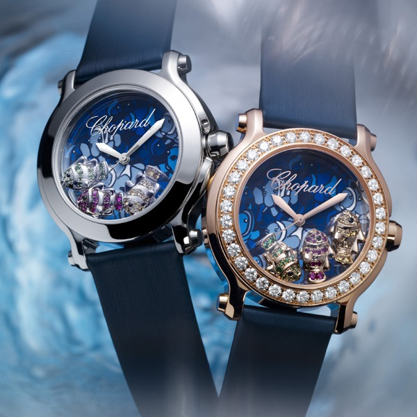 Chopard Happy Sport Collection Happy Fish Watches