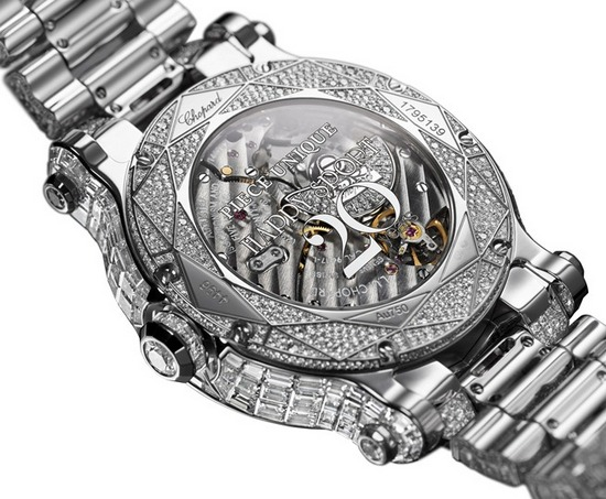 Chopard Happy Sport Diamantissimo Watch Caseback