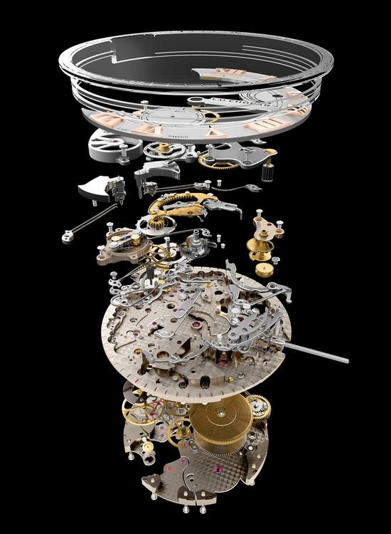 Chopard L.U.C Full Strike Watch Movement Parts