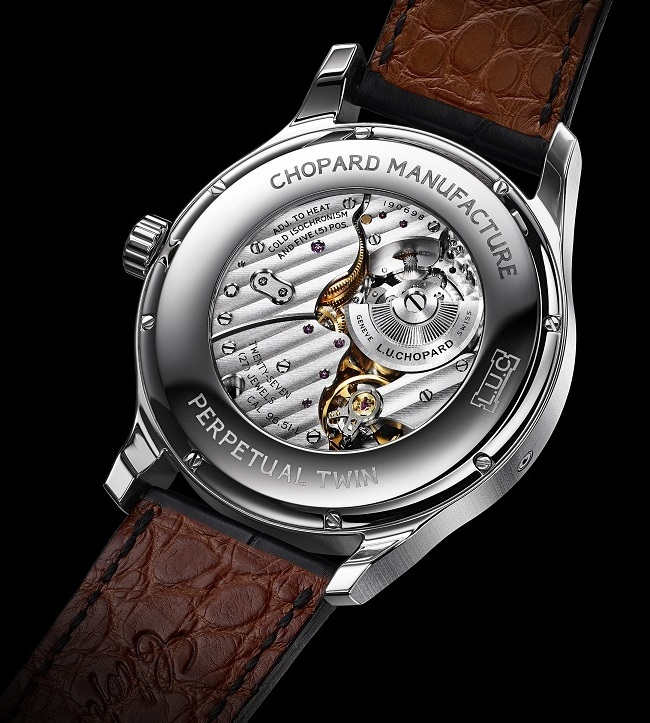 Chopard L.U.C Perpetual Twin Watch Case Back