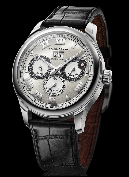 Chopard L.U.C Perpetual Twin Watch Front