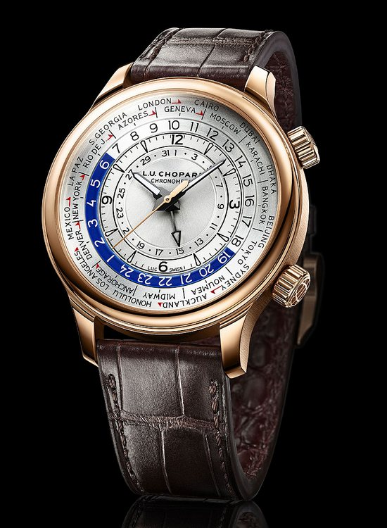 Chopard L.U.C Time Traveler One Rose Gold Watch