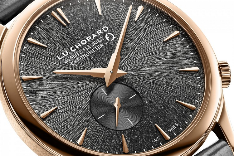 Chopard L.U.C XPS Twist QF Fairmined Watch Dial