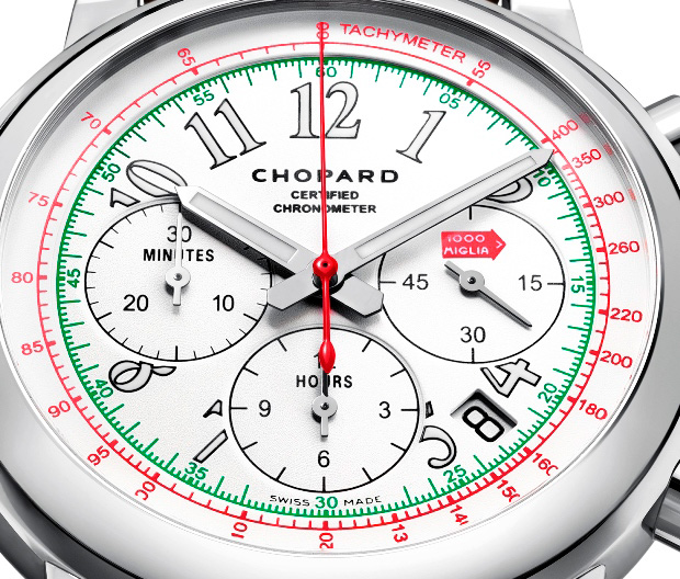Chopard Mille Miglia Chronograph 2014 Watch Dial