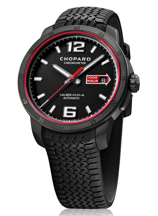 Chopard Mille Miglia GTS Automatic Speed Black Watch Front