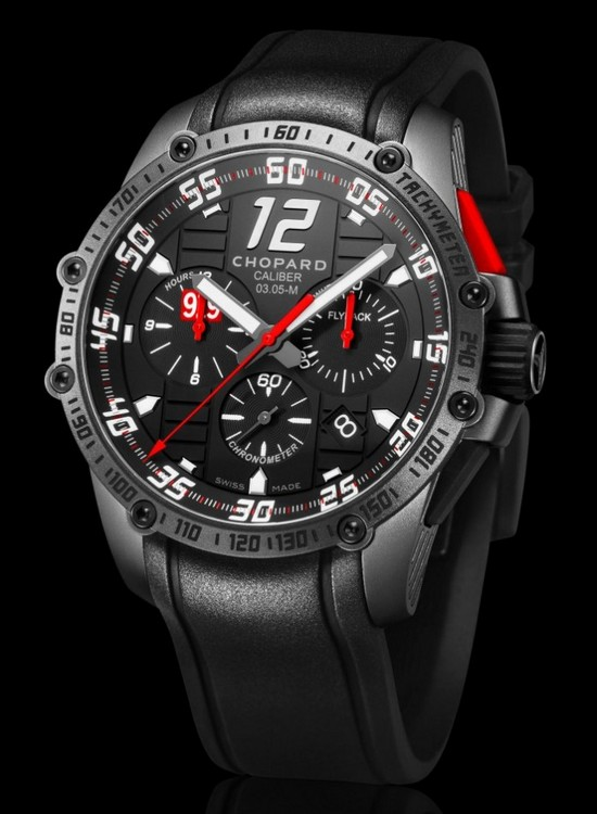Chopard Superfast Chrono Porsche 919 Black Edition Watch