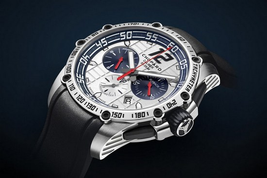 Chopard Superfast Chrono Porsche 919 Jacky Ickx Edition Watch Dial