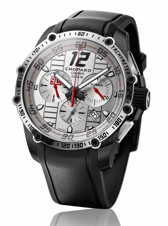Chopard Superfast Chrono Porsche 919 Mark Webber 2015 Only Watch Front