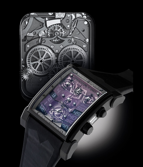 Christophe Claret DualTow Night Eagle Watch