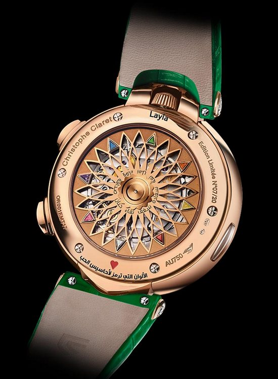 Christophe Claret Layla Watch Back