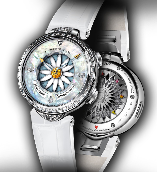 Christophe Claret Margot White Gold Watch