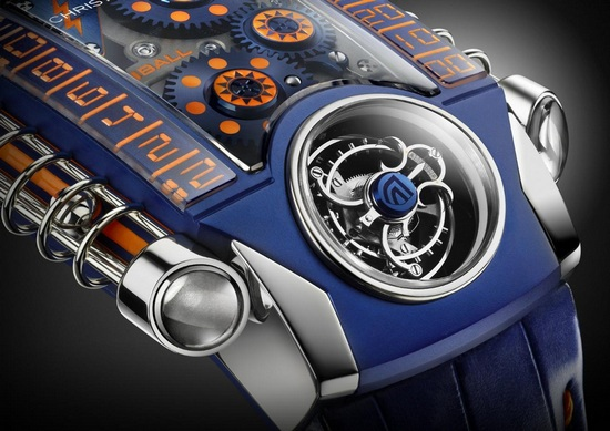 Christophe Claret X-TREM-1 Pinball Only Watch 2013 Detail