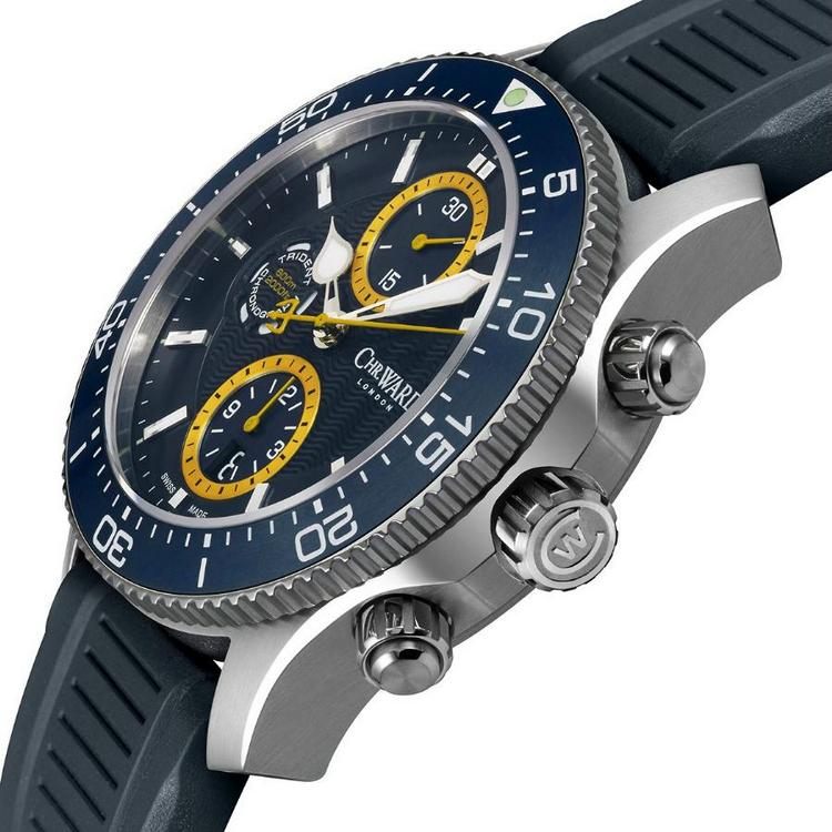 Christopher Ward C60 Trident Chronograph Watch