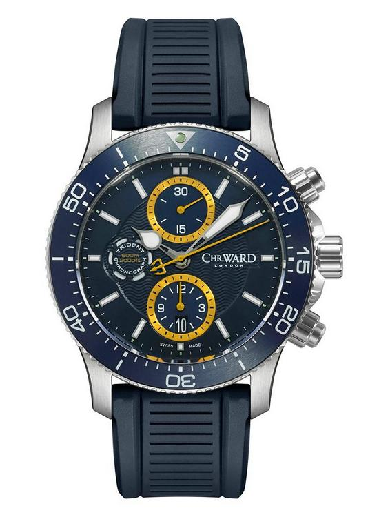 Christopher Ward C60 Trident Chronograph Watch Front